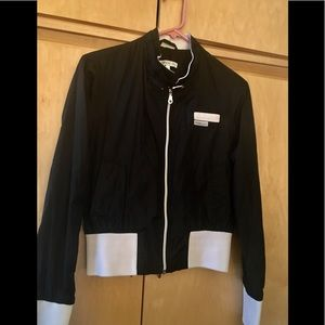 Members Only black bottom band jacket